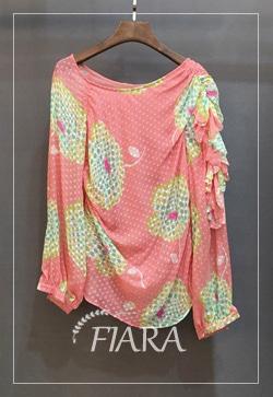 [수입][즉시발송] 매니핑크 물방울 셔츠