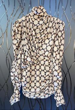 [수입][즉시발송] 모던칼라 주름 셔츠
