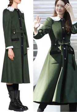 [수입] 무브그린 아일렛 코트
