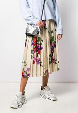 [수입] 멜로 꽃무늬 스커트