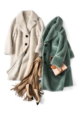[수입] 양털 소프트 코트
