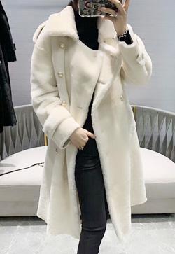 [수입] 쉬프 레이브 뽀송 코트
