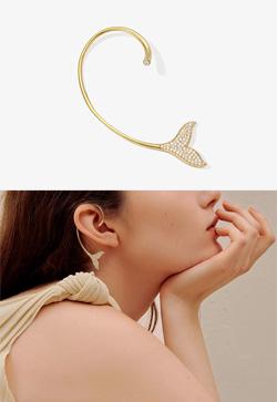 [수입] 플루크 이어커프 귀걸이