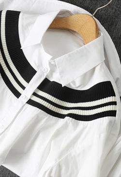 [수입] 시보리 블랙크 셔츠