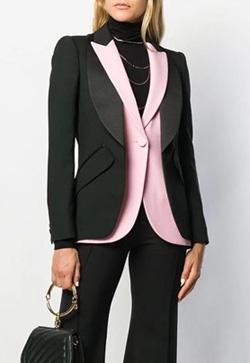 [수입] 옷깃핑크 에버 자켓