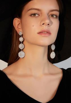 [수입] 파블로트 럭셔리 롱 귀걸이