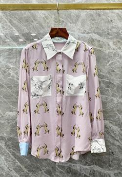 [수입] 홀스 퍼플카라 셔츠