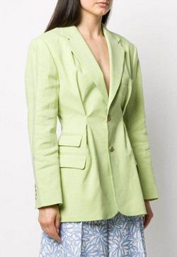 [수입] 라인 포버튼 봄 자켓
