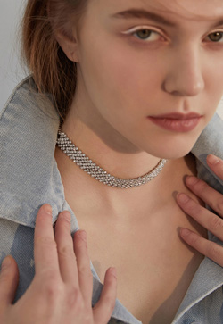 [수입] 체코심플 실버 목걸이 악세사리쇼핑몰 체인목걸이 이어커프 명품귀걸이 명품스타일