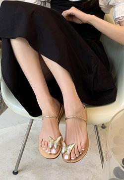 [수입] 이자벨 나비조리 슈즈 30대여성쇼핑몰 결혼식하객패션 하객원피스 수입여성의류 원피스쇼핑몰 연예인원피스