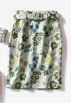 [수입] 쟈카드 스타일리쉬 스커트 30대여성쇼핑몰 결혼식하객패션 하객원피스 수입여성의류 원피스쇼핑몰 연예인원피스