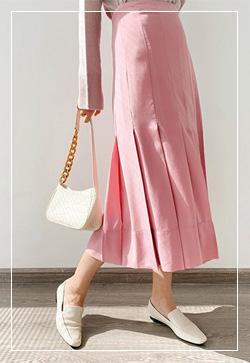 [수입] 핑크핏 슬림 스커트 30대여성쇼핑몰 결혼식하객패션 하객원피스 수입여성의류 원피스쇼핑몰 연예인원피스