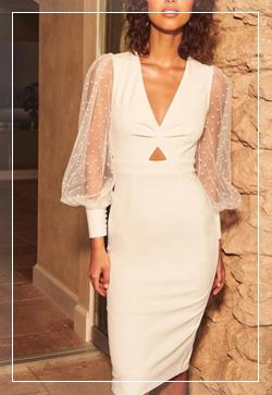 [수입] 샤링 도트슬리브 원피스 30대여성쇼핑몰 결혼식하객패션 하객원피스 수입여성의류 원피스쇼핑몰 연예인원피스