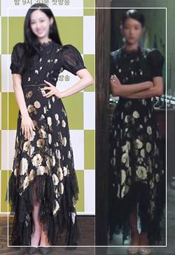 [수입] 블랙마카롱 도트 원피스 30대여성쇼핑몰 결혼식하객패션 하객원피스 수입여성의류 원피스쇼핑몰 연예인원피스