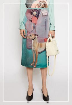 [수입] 강아지 로얄 실크 스커트 30대여성쇼핑몰 결혼식하객패션 하객원피스 수입여성의류 원피스쇼핑몰 연예인원피스