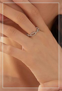 [수입] 실버알트 체인 반지 악세사리쇼핑몰 체인목걸이 이어커프 명품귀걸이 명품스타일