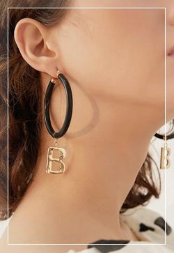 [수입] 비비골드 링 귀걸이 악세사리쇼핑몰 체인목걸이 이어커프 명품귀걸이 명품스타일