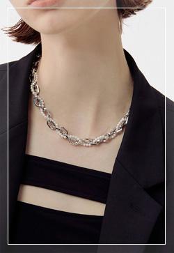 [수입] 비스사슬 체인 목걸이 악세사리쇼핑몰 체인목걸이 이어커프 명품귀걸이 명품스타일