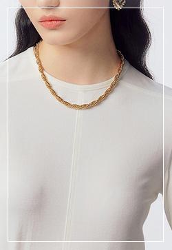 [수입] 매직골드 클래식 목걸이 악세사리쇼핑몰 체인목걸이 이어커프 명품귀걸이 명품스타일