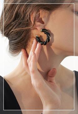 [수입] 에이미 골드믹스 귀걸이 악세사리쇼핑몰 체인목걸이 이어커프 명품귀걸이 명품스타일