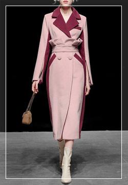 [수입] 서티 자주카라 코트 30대여성쇼핑몰 결혼식하객패션 하객원피스 수입여성의류 원피스쇼핑몰 연예인원피스