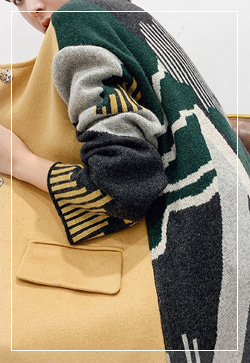 [수입] 밀리언 노카라 배색 코트 30대여성쇼핑몰 결혼식하객패션 하객원피스 수입여성의류 원피스쇼핑몰 연예인원피스