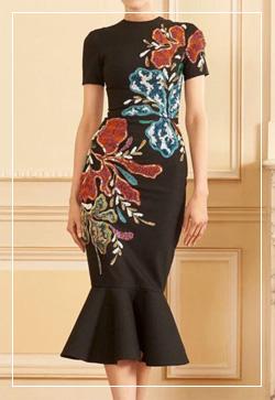 [수입] 쉬즈 스팽글메이드 원피스 30대여성쇼핑몰 결혼식하객패션 하객원피스 수입여성의류 원피스쇼핑몰 연예인원피스