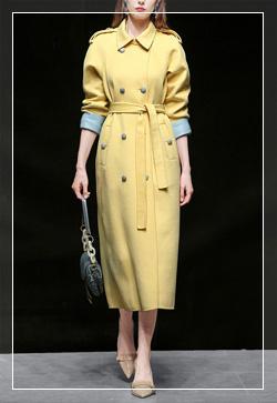 (수입) 앙투와넷 옐로우 코트