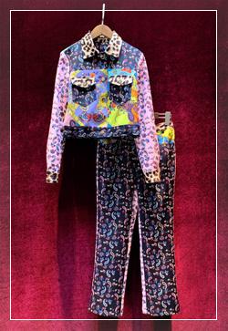 [수입] 페이즐리 마리 자켓&팬츠 투피스 세트 30대여성쇼핑몰 결혼식하객패션 하객원피스 수입여성의류 원피스쇼핑몰 연예인원피스