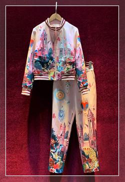[수입] 붉은캐슬 핑크 탑&팬츠 투피스 세트 30대여성쇼핑몰 결혼식하객패션 하객원피스 수입여성의류 원피스쇼핑몰 연예인원피스