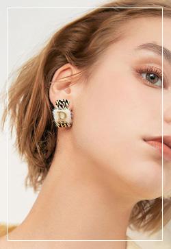 (수입) 디디라인 체인 귀걸이