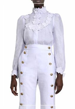 (수입) 알루아 꽃잎 셔츠