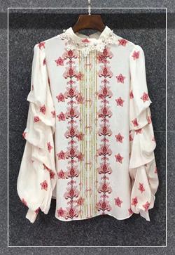 (수입) 딜리쉬 꽃프랑 셔츠