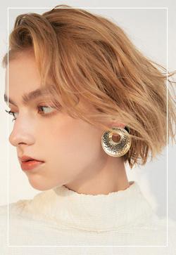 (수입) 포지티브 트렌디 귀걸이