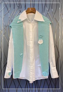 (수입) 민티위시 화이트 셔츠