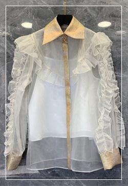 (수입) 바니스 카라로사 셔츠