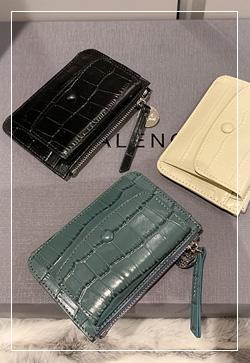 [수입] 포켓트 지퍼 카드지갑