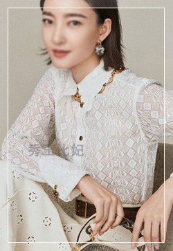 [수입] 엠보 슬리밍카라 셔츠
