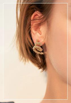 (수입) 안젤라 미니골드 귀걸이