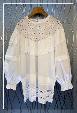 (수입) 낙낙핏 해바라기 셔츠