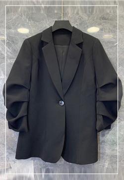 (수입) 스칼렛 주름슬리브 자켓