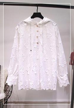 (수입) 파이브버튼 후디 셔츠