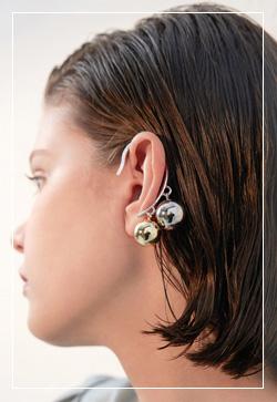 (수입) 로마링 이어커프 귀걸이