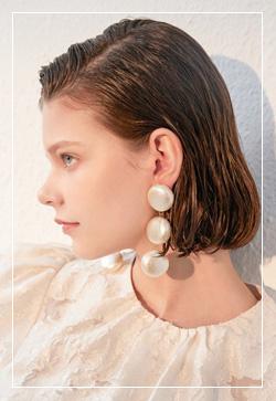 (수입) 아폴로 쓰리링 귀걸이