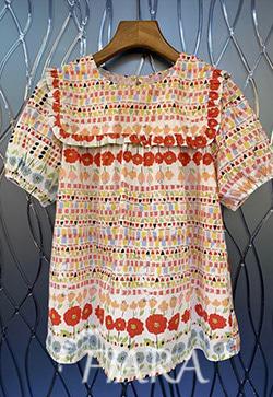 (수입) 메가플라워 셔츠
