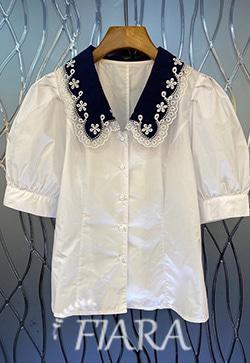 (수입) 스틸라 메쉬카라 셔츠