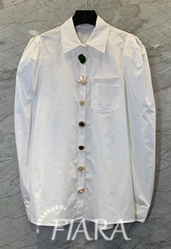 (수입) 유로프버튼 긴소매 셔츠