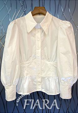 (수입) 멜로우 코튼퍼프 셔츠