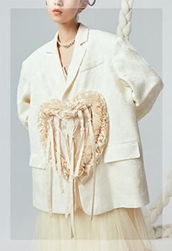 (수입) 쟈카드 하트메모리 자켓