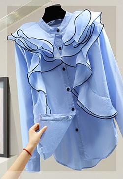 (수입) 오즈프릴 셔츠